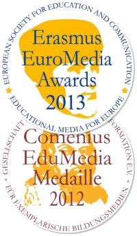Medaillen EuroMedia Awards 2012, Comenius EduMedia 2013